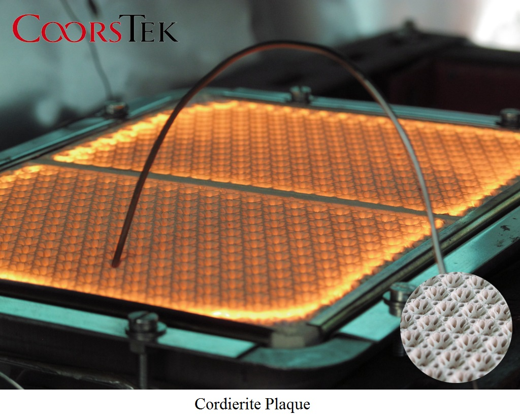 Infrared Burner L Ceramic Fiber Plaque L Cordierite Plaque